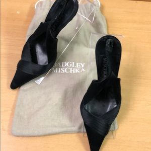 Badgley Mischka Satin Shoes Size 36.5